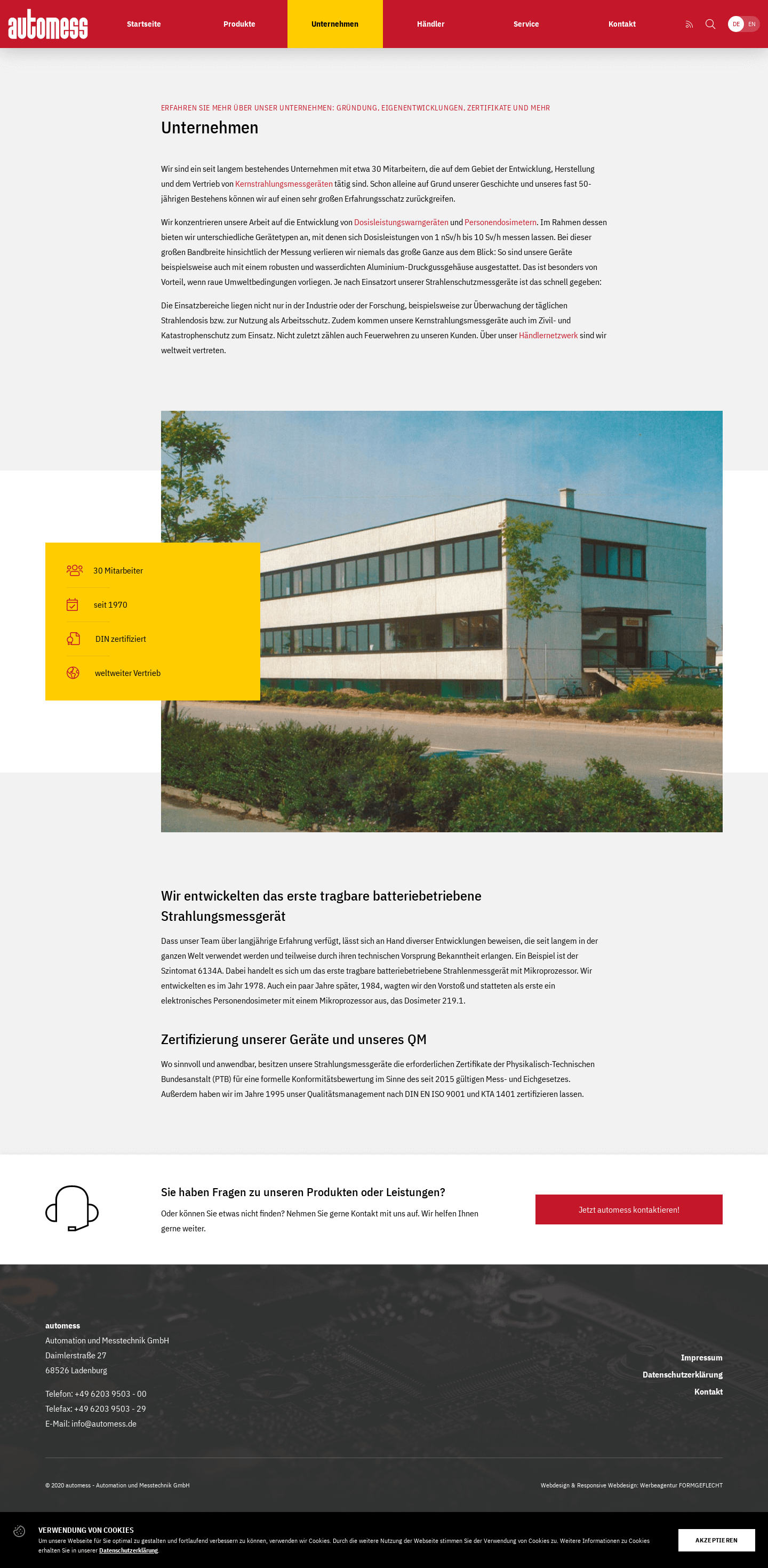 Automess Website