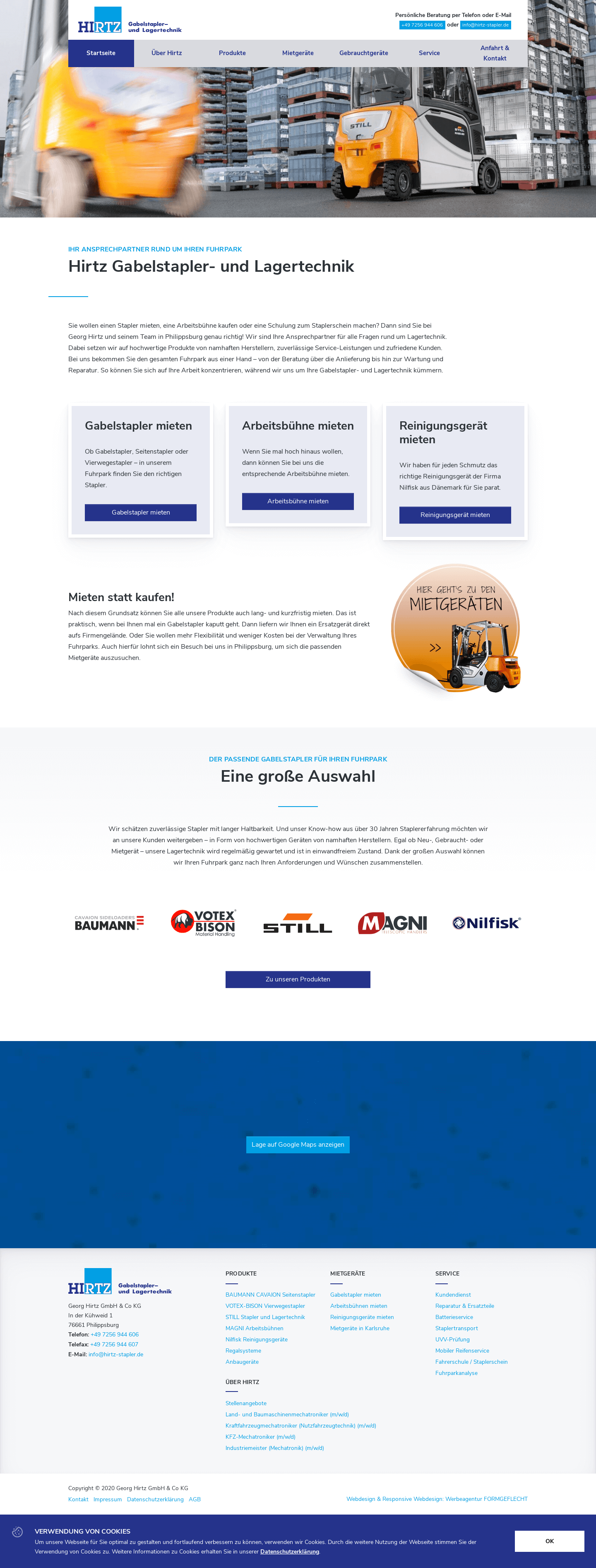 Georg Hirtz Website