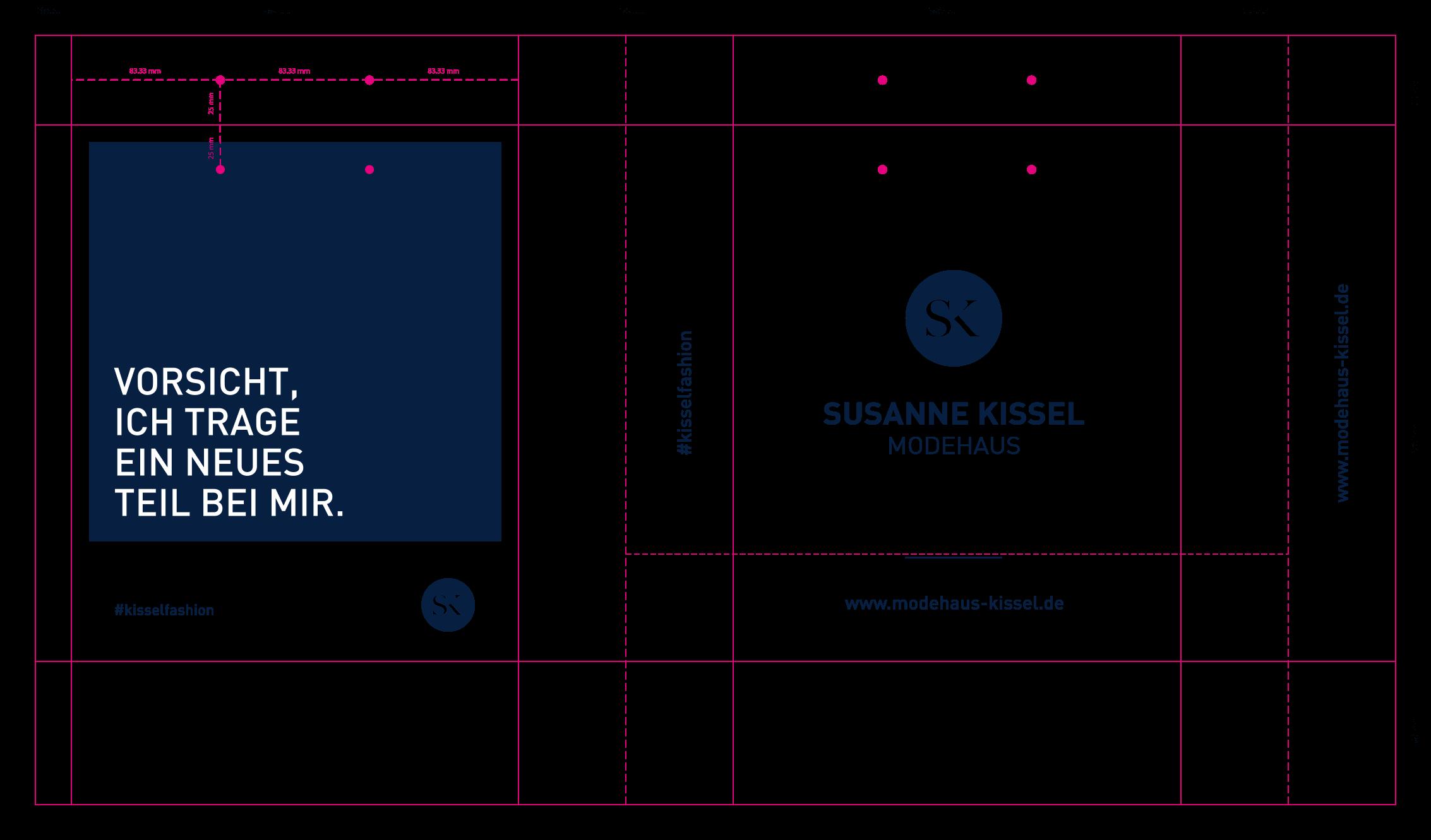 Printdesign Tragetasche Ansicht