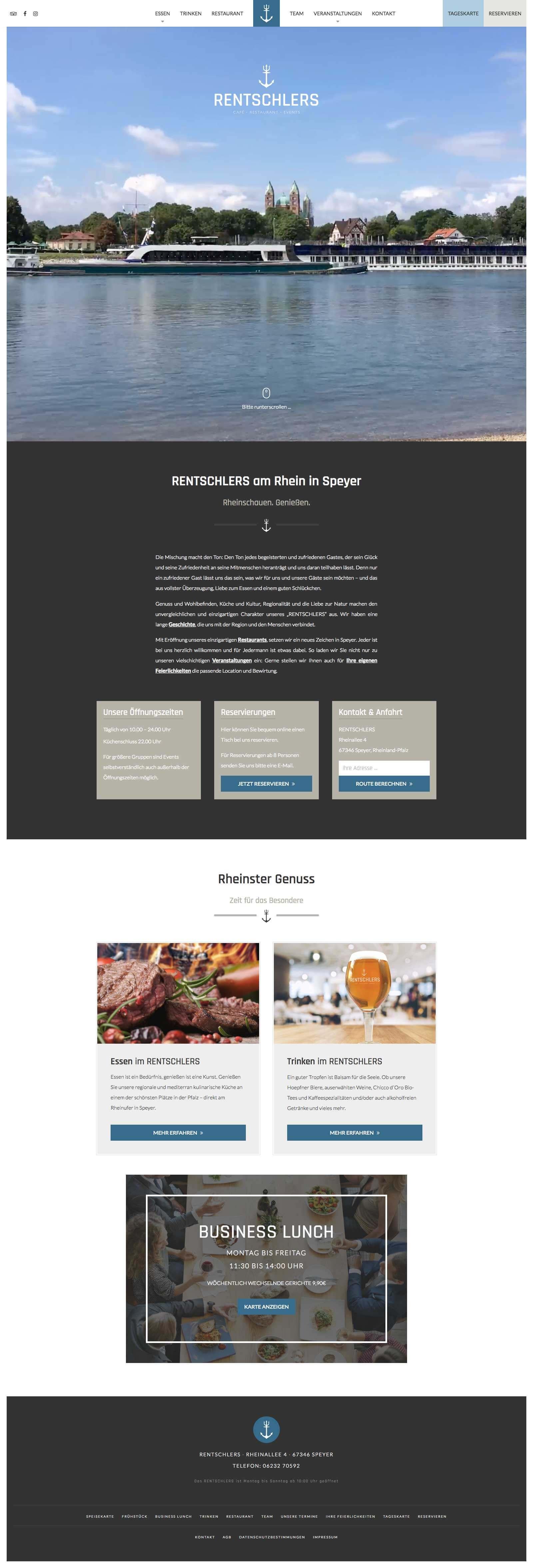 RENTSCHLERS Website